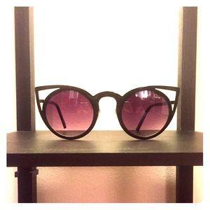 "Quay Australia ""Invader"" Cat Eye Sunglasses"